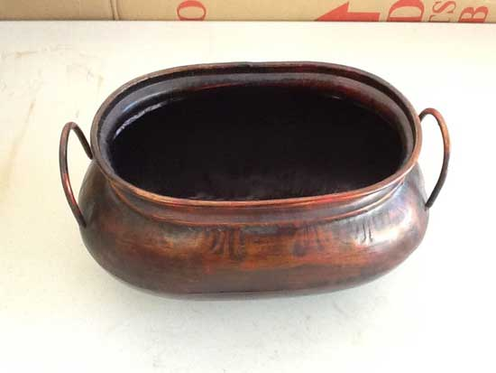 thin tin planter from Ross