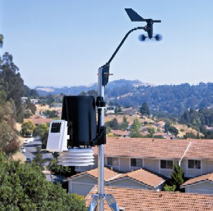 Davis Vantage Pro weather station