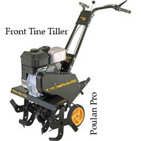Poulan pro front tine tiller