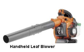 handheld blower for cleaning out leaves