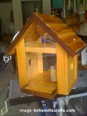 bird house by Kirks Mills