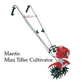 Mantis mini tiller cultivator great for small gardens