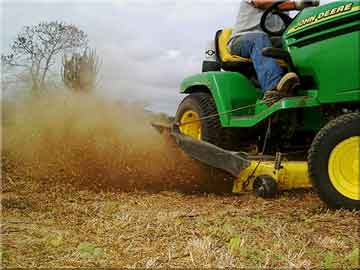mower filers help keep out the dirt