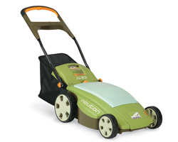 battery powered neuton electric lawn mower