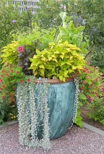 Outdoor planters and window boxes a fary cry from the old days outdoor planter stand alone workwithnaturefo