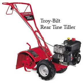 Large Rear Tine tiller by Troy-Bilt