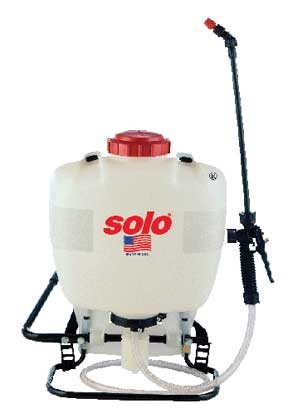 4 gallon Solo backpack sprayer