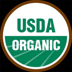 Organic Logo of the USDA