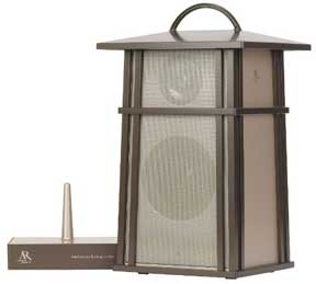 handsome outdoor wireless speaker from Acoustic Research